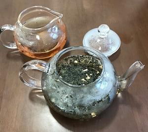 紫蘇生姜茶